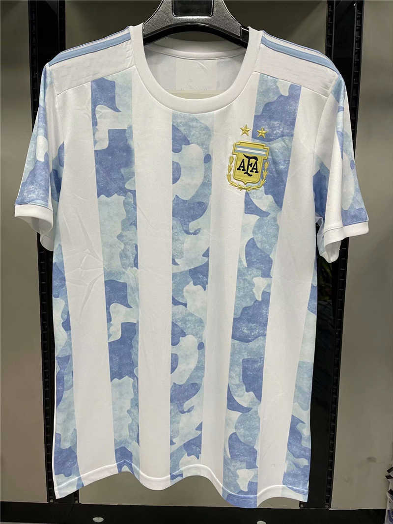 AAA 2020 Argentina Home Soccer Jersey