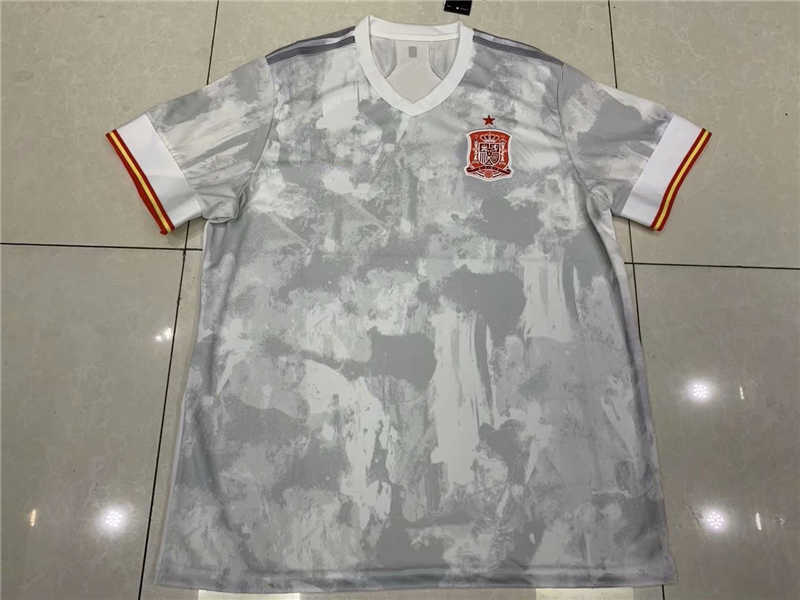AAA 2020 Spain Away Soccer Jersey