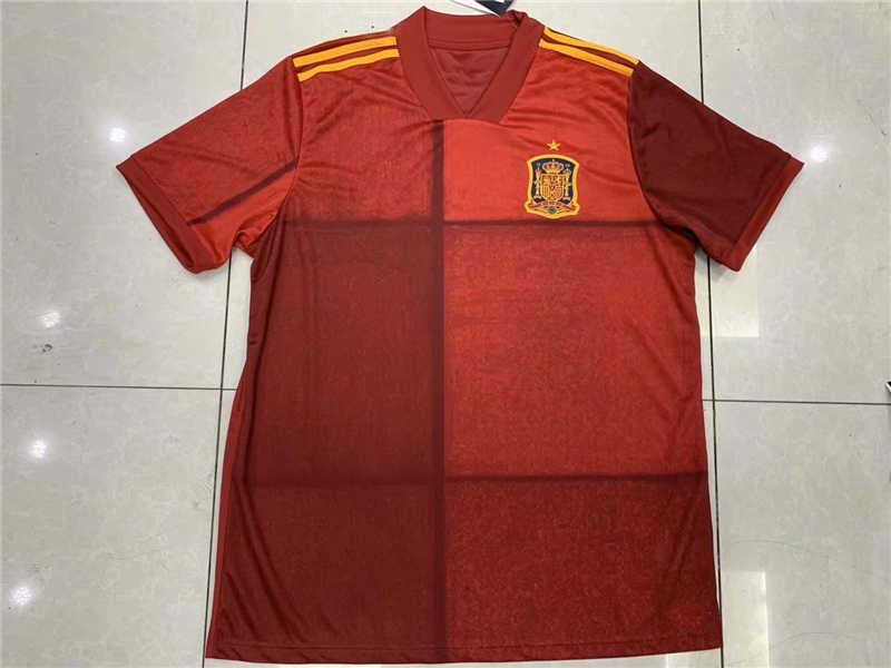 AAA 2020 Spain Home Soccer Jersey