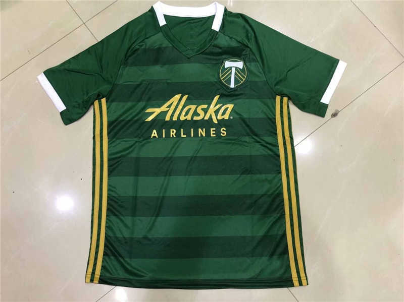 AAA 2019 Portland Timbers Home Soccer Jersey
