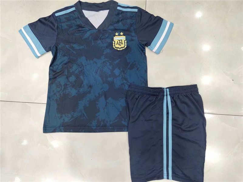 2020 Argentina Away Youth Soccer Jersey