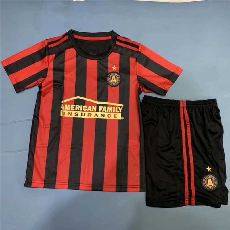 2019 Atlanta United Home Youth Soccer Jersey
