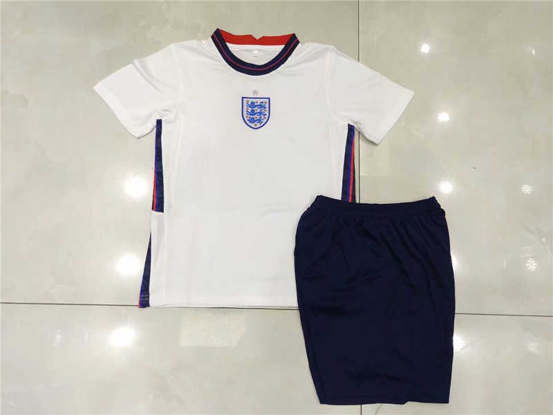 2020 England Home Youth Soccer Jersey