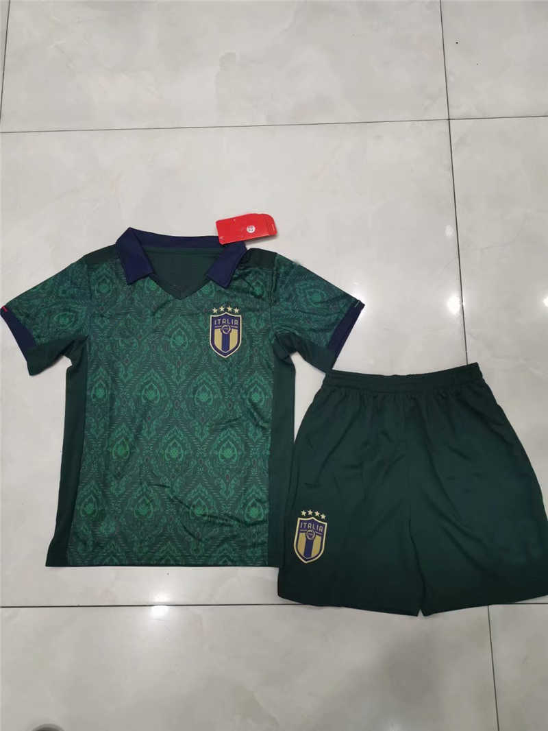 2020 Italy Third Youth Soccer Jersey