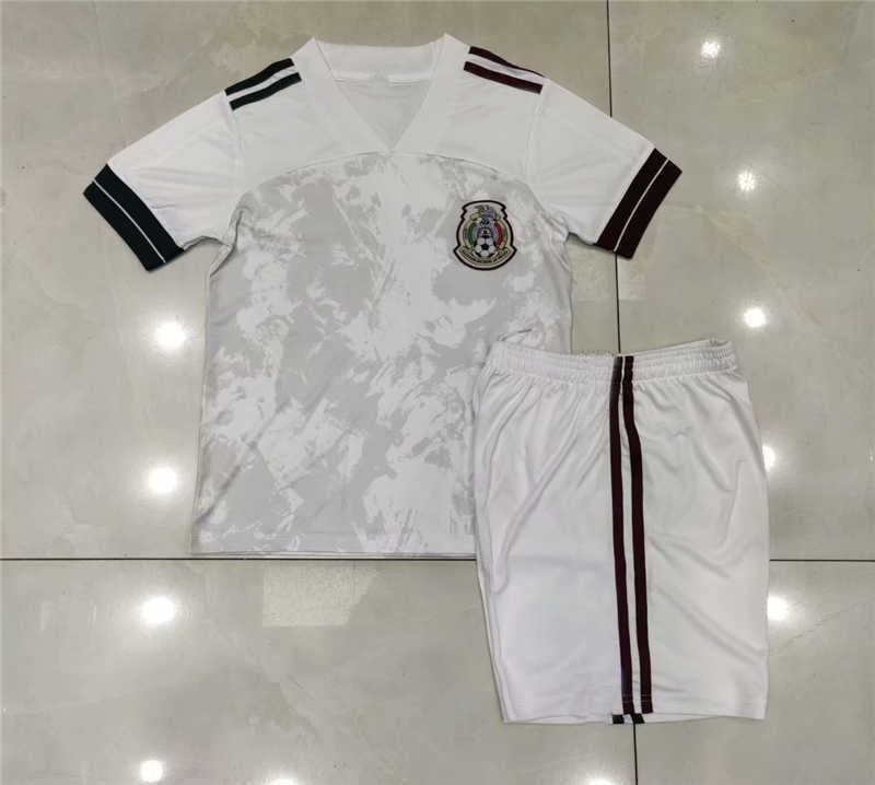 2020 Mexico Away Youth Soccer Jersey