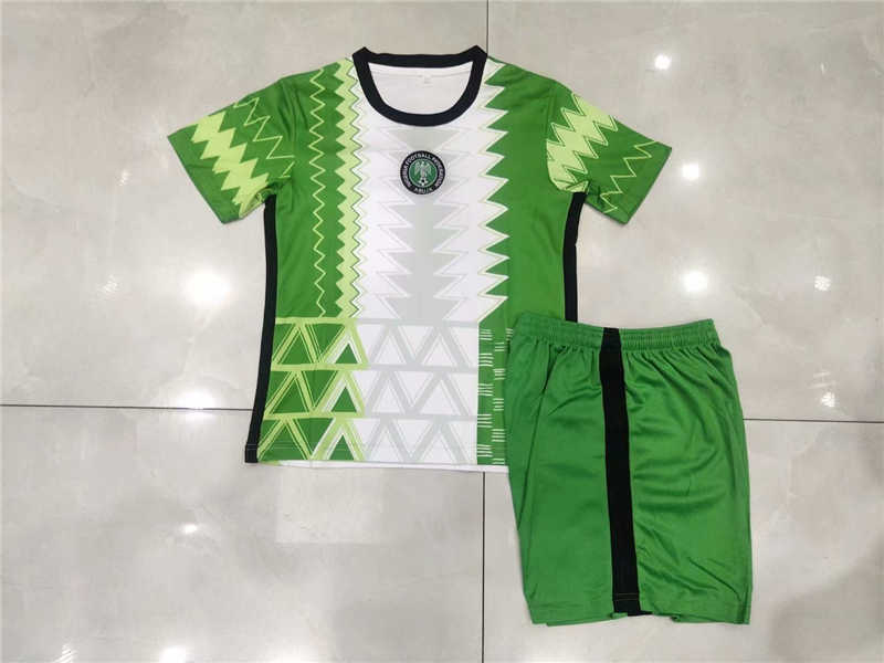 2020 Nigeria Home Youth Soccer Jersey