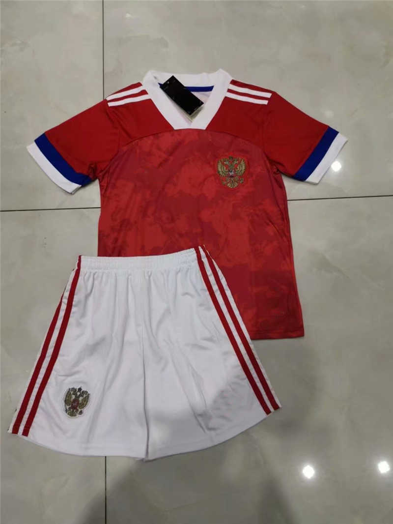2020 Russia Home Youth Soccer Jersey