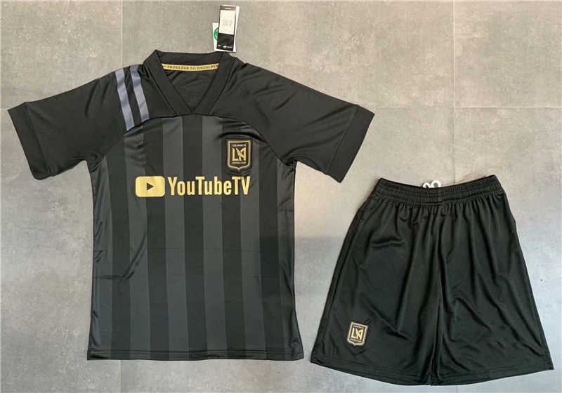 2020 Los Angeles FC Home Soccer Jersey